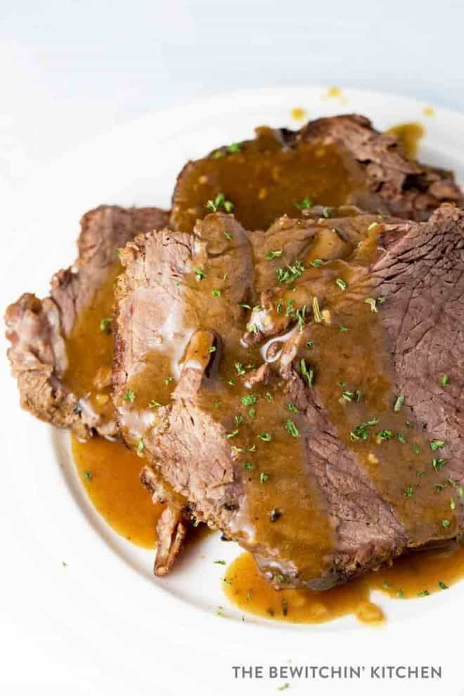 Perfect Pot Roast - Roast Beef Dinner