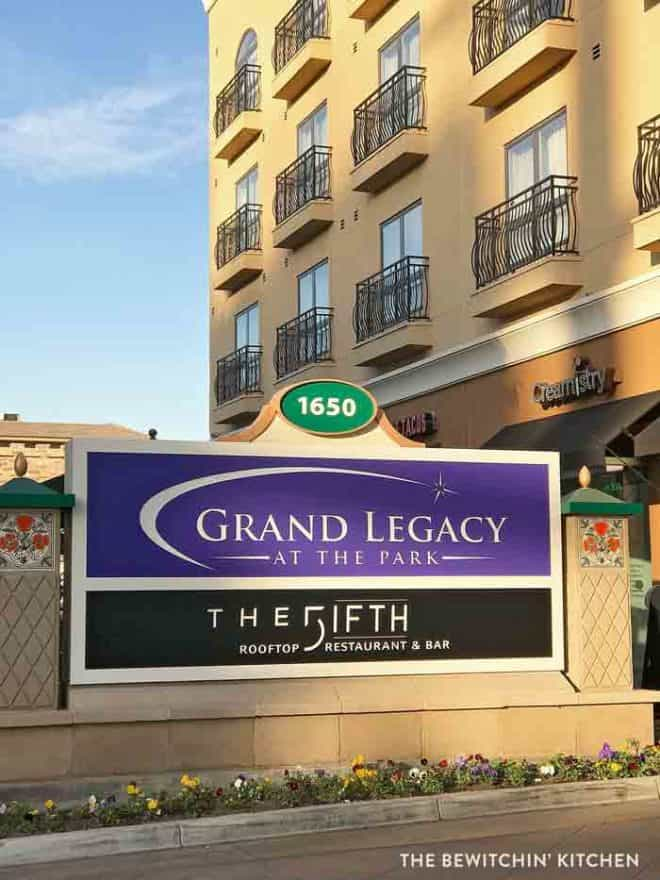 Where to stay at Disneyland - Grand Legacy at The Park. It's close!