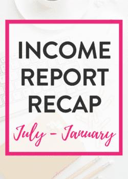 Blog income report recap