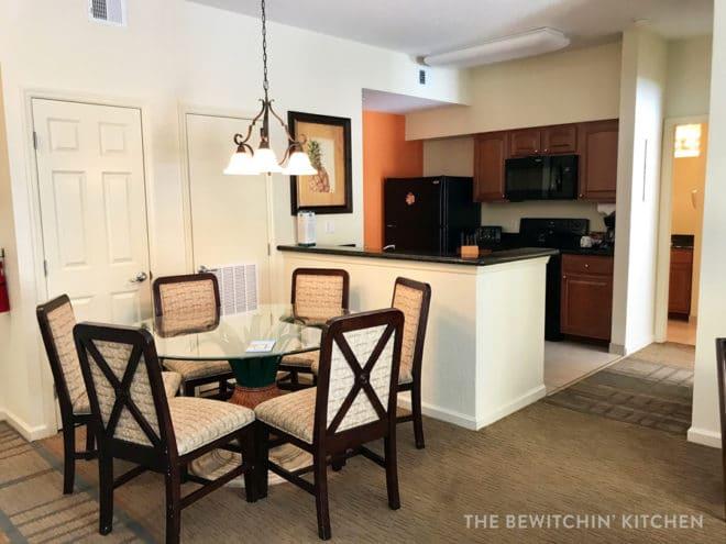 Two bedroom suite at Lake Buena Vista Resort
