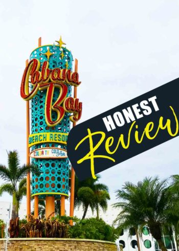 An honest review on Universal Orlando Resort's Cabana Bay Resort. If you're planning a trip to Orlando - check out this overview and thoughts on this family friendly beach inspired resort and see if it's right for your family. RIGHT beside Volcano Bay. #OrlandoVacation #orlandoresort #universalorlando #floridavacation