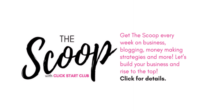 The Scoop with Click Start Club