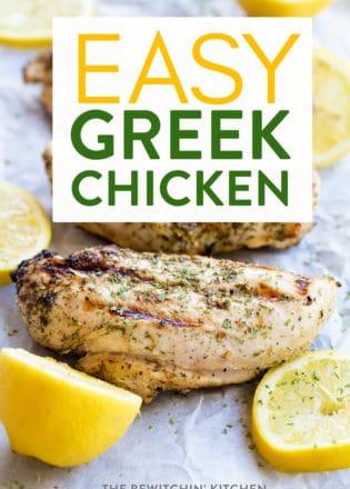 Greek Chicken Recipe with Lemon, Oregano, and Dill