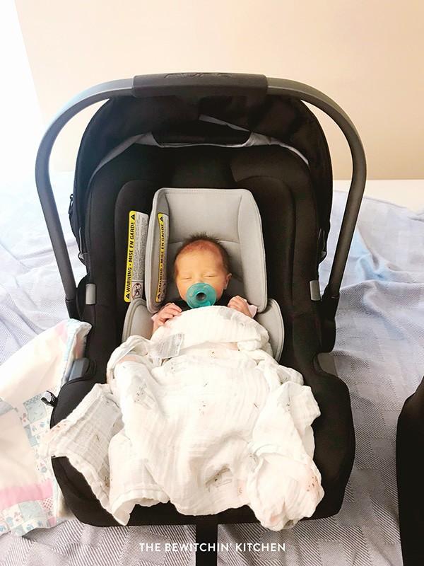 Nuna PIpa Carset - premature baby