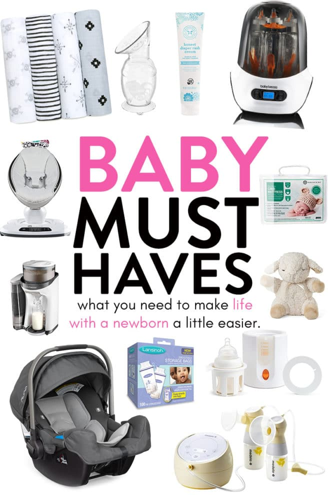 baby must haves for registery
