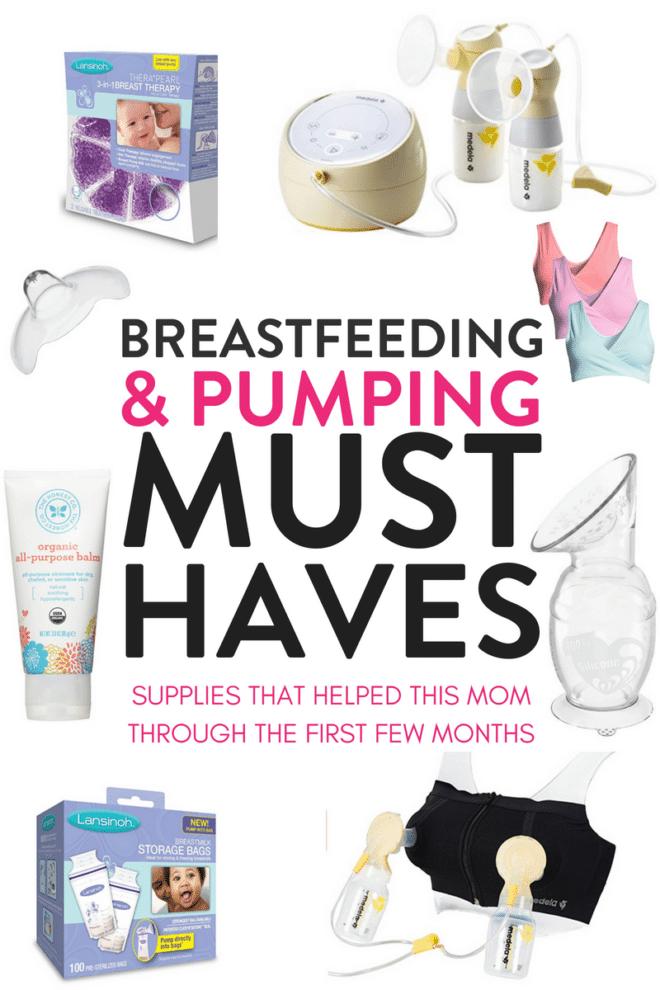 Breastfeeding must haves that make nursing and pumping easier