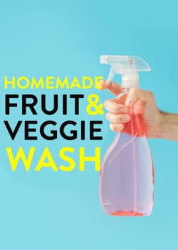 homemade fruit and vegetable cleaner