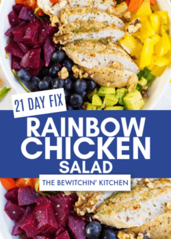 21 Day Fix Chicken Rainbow Salad