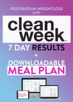Beachbody Clean Week Results and Meal Plan