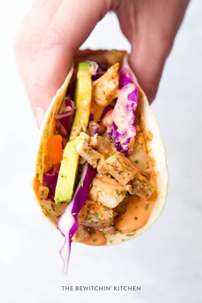 The best chicken tacos recipe