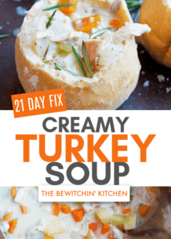 21 Day Fix Creamy Turkey Soup