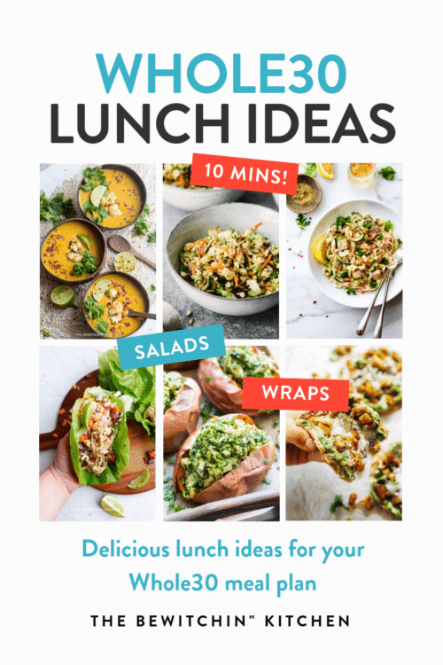 Whole30 lunch ideas