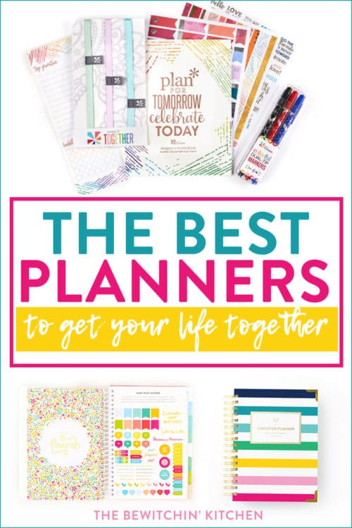 best planners and agendas to organize your life