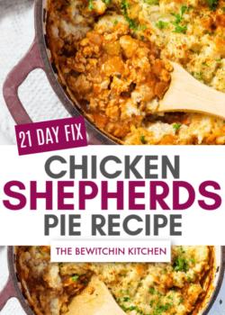 21 day fix chicken sheperds pie