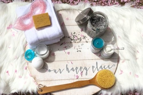 Bath subscription box