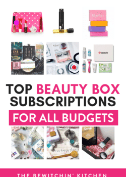 The best beauty subscriptions boxes.