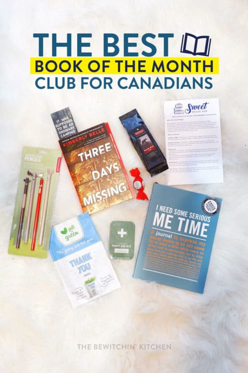 The best book of the month club for Canadians!