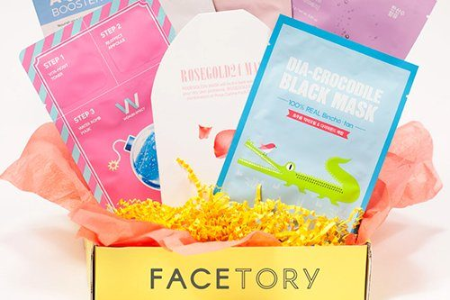 Face mask beauty box