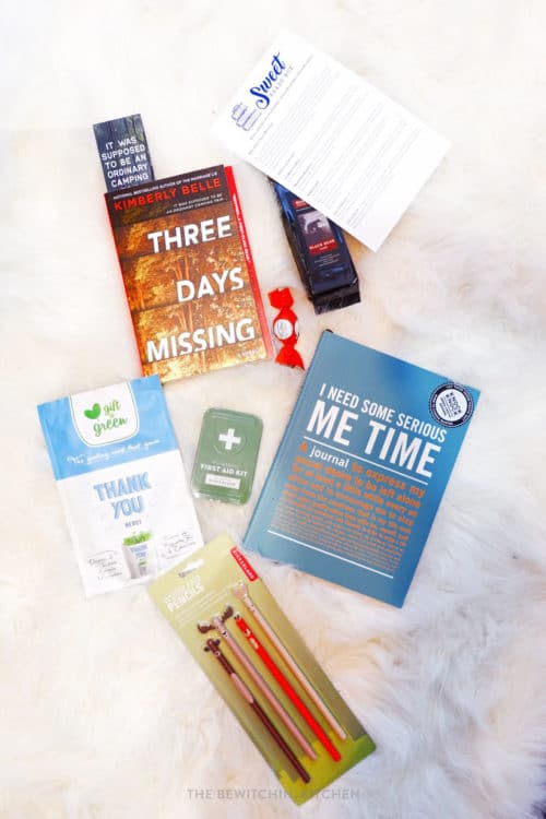 Sweet Reads Box - book subscription box for Canada.