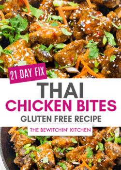 21 Day Fix Thai Chicken Bites