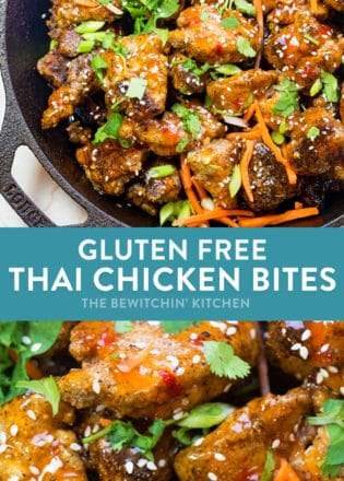 DElicious gluten free thai chicken bites