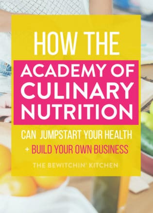 academy of culinary nutrition review