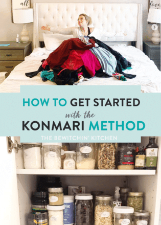 How to get started with the KonMari method.
