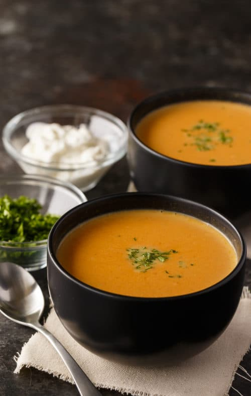 Ketogenic pumpkin soup recipe