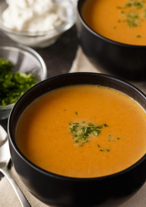 low carb pumpkin soup