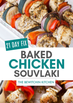 21 day fix greek chicken souvlaki