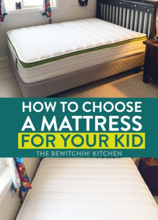 how to choose a kids mattress