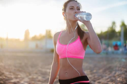 Reduce DOMS by staying hydrated