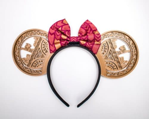 Moana Disney Ears