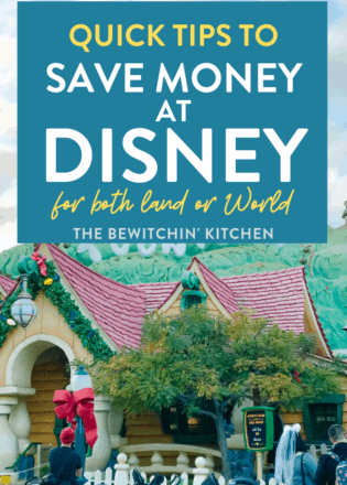 quick tips to save money at disney