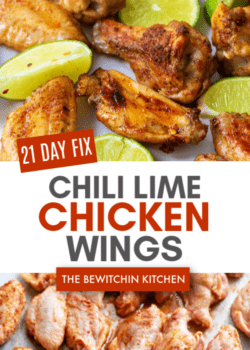 21 Day Fix Chili Lime Chicken Wings