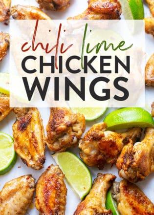 healthy chicken wings recipe