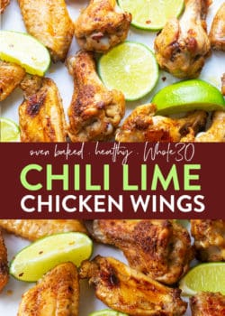healthy whole30 chili lime chicken wings recipe