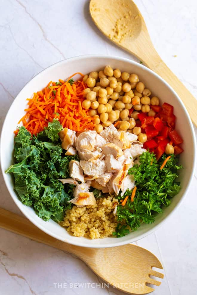 Chicken Chickpea Bowl