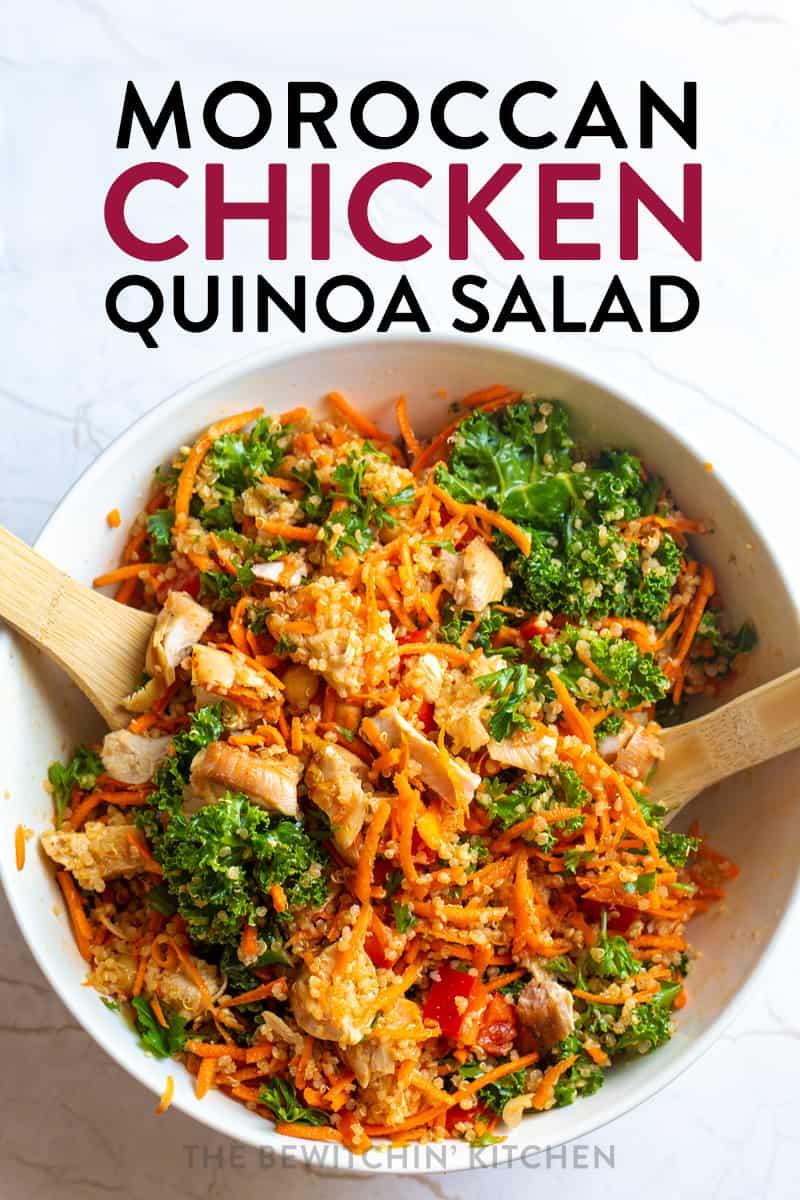 Moroccan Chicken Quinoa Salad The Bewitchin Kitchen
