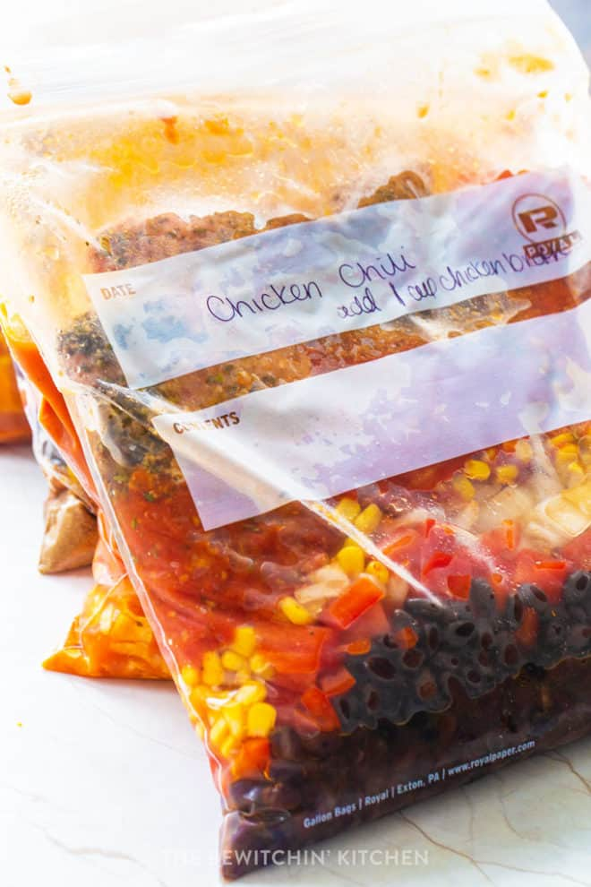 freezer dinner ideas in a ziploc bag