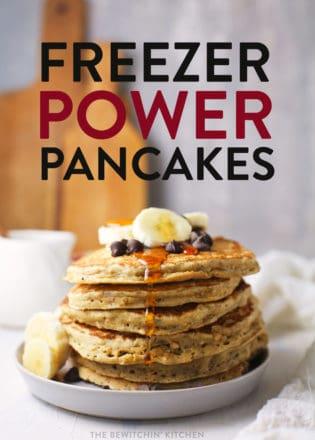 freezer power pancakes recipe
