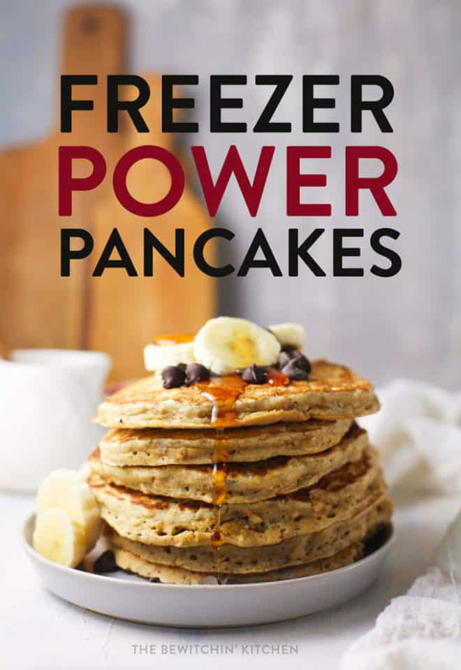 freezer power pancakes recipe
