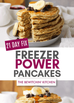 21 Day Fix Freezer Power Pancakes