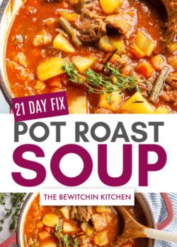 21 day fix pot roast soup