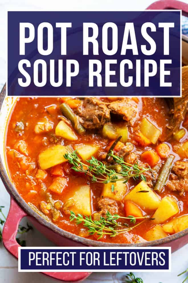 easy pot roast soup recipe