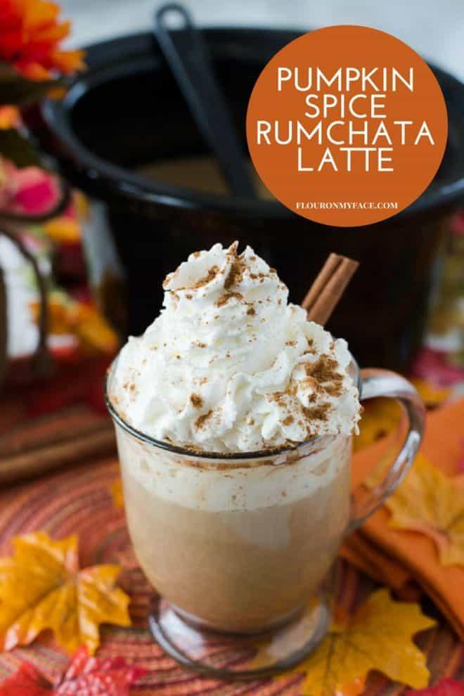 CrockPot Pumpkin Spice RumChata Latte