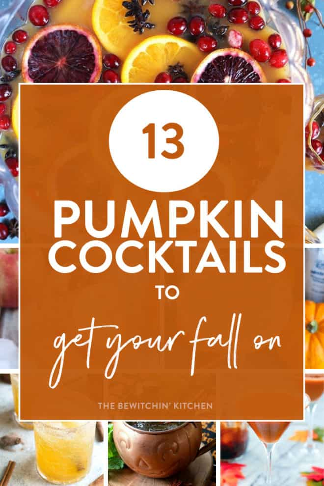 pumpkin cocktails for fall