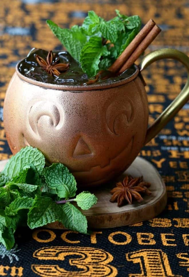 Pumpkin moscow mule recipe