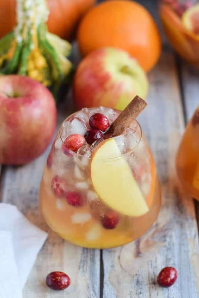 Pumpin Apple Sangria