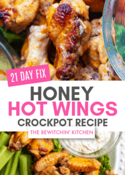 21 Day Fix Honey Hot Wings